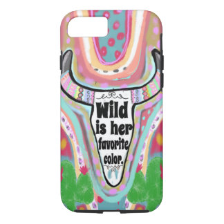 Wild Is Her Favorite Color iPhone 8/7 Case