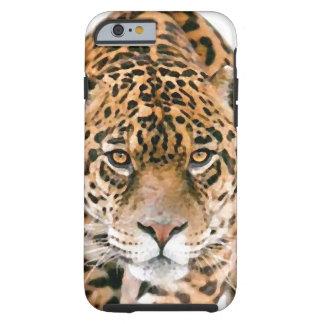 Wild Jaguar Eyes Tough iPhone 6 Case