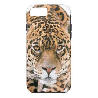 Wild Jaguar Eyes Tough iPhone 7 Case
