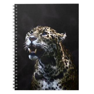 Wild Jaguar Spotted Panther Animal Lover Artwork Notebooks