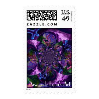 Wild Kaleidoscope Saturn Stamps