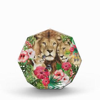 Wild King Jungle Lion Animals Acrylic Award