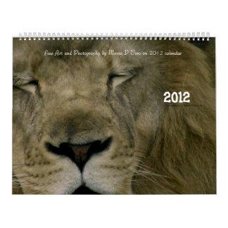 Wild Kingdom 2012 Calendar