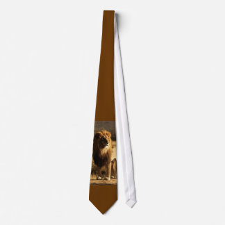 Wild Kingdom Lion Silky Mens' Necktie