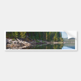 Wild Lake in Oregon's Cascade Mountains Bumper Sticker