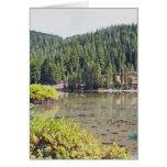 Wild Lake in Oregon's Cascade Mountains Greeting Card