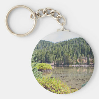 Wild Lake in Oregon's Cascade Mountains Keychain
