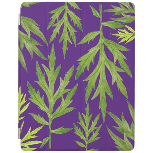 Wild Leaves on an iPad Cover
