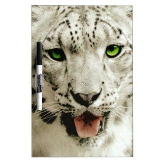 Wild Leopard Dry Erase Whiteboard