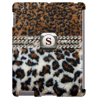Wild Leopard Fur iPad Case