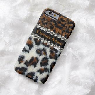 Wild Leopard Fur Print iPhone 6 Case