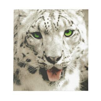 Wild Leopard Notepad