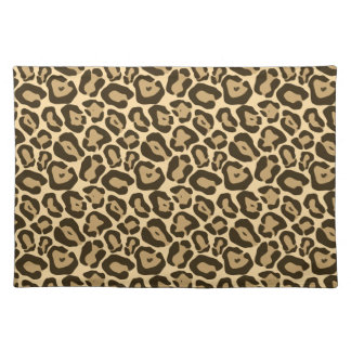 Wild Leopard Pattern Placemat