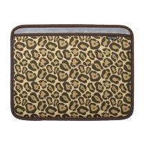 Wild Leopard Pattern Sleeve For MacBook Air