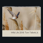 "Wild Life 2018 Calendar<br><div class=""desc"">Portraits of wildlife from the western United States.</div>"