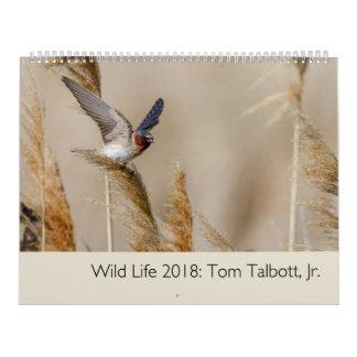 Wild Life 2018 Calendar