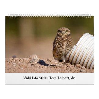 Wild Life 2020 Calendar