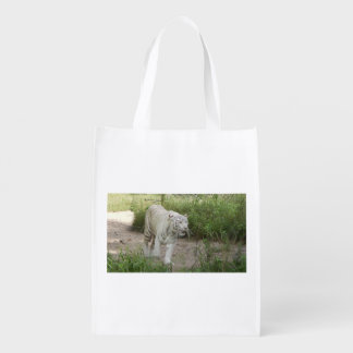 Wild Life Collection: Two Sided Tiger Bag Reusable Grocery Bag