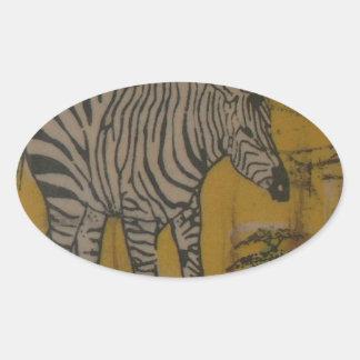 Wild Life Kenya African Safari Zebra.png Stickers