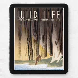 Wild Life Mouse Pad