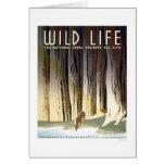 Wild Life National Park 1940 WPA Card
