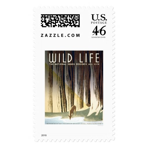 Wild Life National Park 1940 WPA Postage Stamps