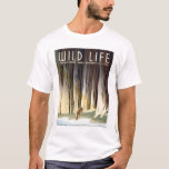 Wild Life National Park 1940 WPA T-Shirt