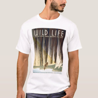 Wild Life National Park 1940 WPA T-Shirt