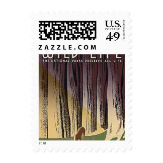 Wild Life - The National Parks preserve all Life. Postage Stamps