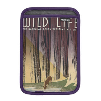 Wild Life - The National Parks preserve all Life. Sleeve For iPad Mini