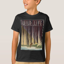 Wild Life - The National Parks preserve all Life. T-Shirt