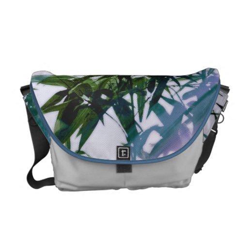 wild lights blues messenger bags