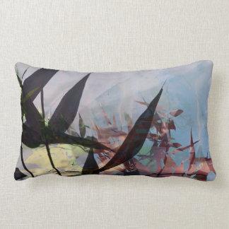 wild lights lumbar pillow