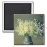Wild Lilacs and Forget-Me-Nots, 1889 2 Inch Square Magnet