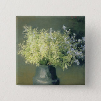 Wild Lilacs and Forget-Me-Nots, 1889 Button