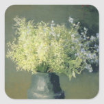 Wild Lilacs and Forget-Me-Nots, 1889 Square Sticker