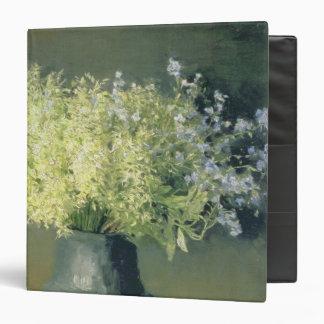 Wild Lilacs and Forget-Me-Nots, 1889 Vinyl Binder