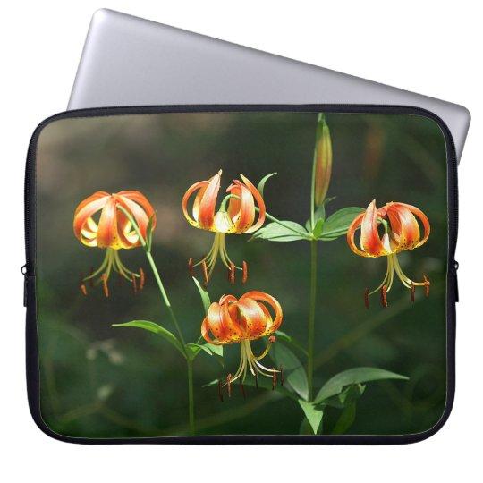 Wild Lilies Laptop Sleeve