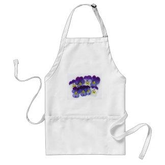 wild lillies adult apron