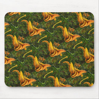 """Wild Lily"" Floral Mousepad"