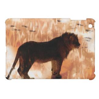 Wild Lion,  African Wild Cat, Nature-lover iPad Mini Cases