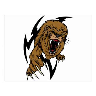Wild Lion Postcard