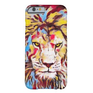 Wild Lion Urban Graffiti Street Art Barely There iPhone 6 Case