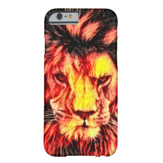Wild Lion Wildlife Fantasy Art Barely There iPhone 6 Case