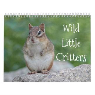 Wild little critters calendar