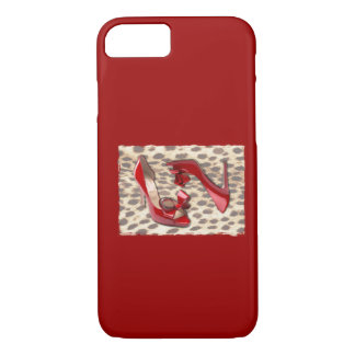 Wild Little Red Bo Peep iPhone 7 Case