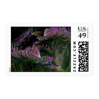 Wild Look Postage Stamp