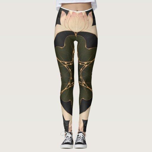 Wild lotus leggings