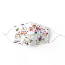WILD LOVE Feminine Floral Adult Cloth Face Mask