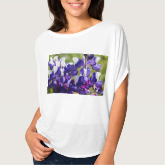 Wild Lupine Flowers Up Close T-Shirt